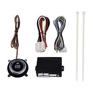 Auto Motor Push Start Stop botón encendido Remote Starter ...