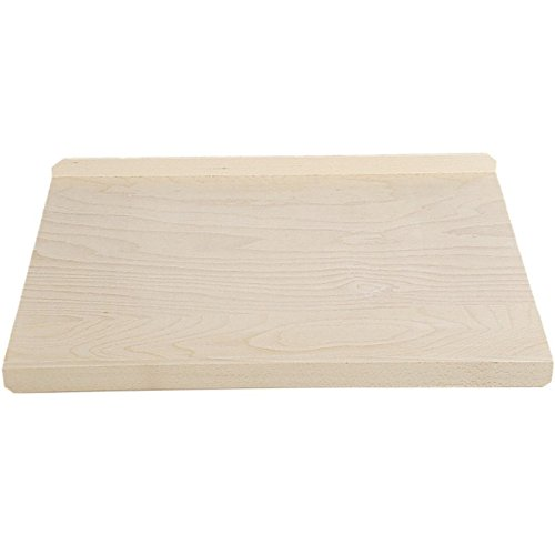 Kesper 68122 Baking Board 26.77'' x 18.9'' x 1.57'' of Wood, Brown by Kesper