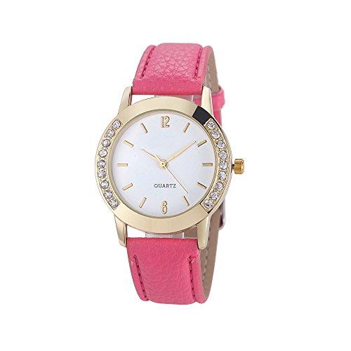 Diamond Set Wrist Watch (SMTSMT Women Diamond Quartz Wrist Watch-Hot)
