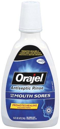 Orajel antiseptique bain de bouche Sore, 16 Fluid Ounce