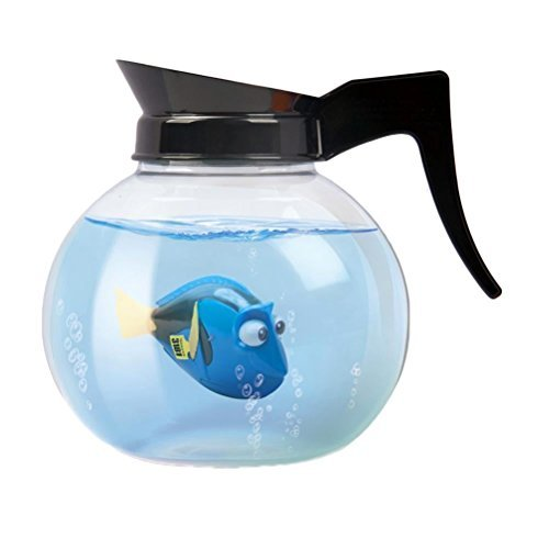 Official Disney Finding Dory Robo Swimming Fish Coffee Pot Playset Toy - Boxed