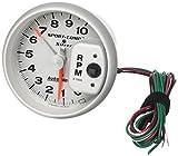 Auto Meter 3910 Sport-Comp Silver Tachometer