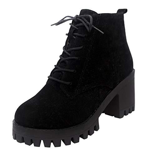 Terciopelo Militares Negro Tacón Botines Moda Paolian Para Señora Dama Plataforma Tallas Casual Grandes Y Martin Ancho Invierno Botas Cuña Otoño 2018 De Calzado Mujer Zapatos q6wAAf