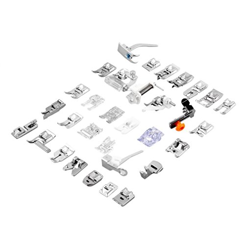Generic Brother Domestic Sewing model ankle Feet Set 32pcs Arts Crafts Sewing