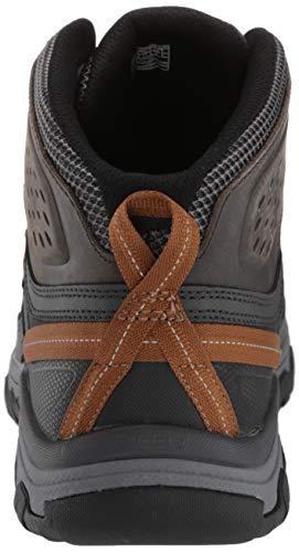 09bdb2a3eaf Keen Men's Targhee Vent MID Hiking Boot, Raven/Bronze Brown, 9 M US