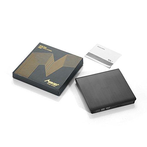 External DVD Drive, MAD GIGA USB 3.0 Transmission Slim Portable External DVD CD +/-RW Writer/Burner/Rewriter ROM Drive Perfect for Mac OS/Win7/Win8/Win10/Vista PC Desktop Laptop by MAD GIGA (Image #6)