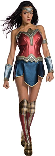 Secret Wishes Women's Wonder Woman Movie Costume, Medium (Wonder Woman Adult Costumes)