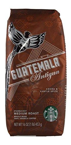 Starbucks - Individual Origin - Whole Bean Coffee - 16 oz - Pack of 2 (Guatemala Antigua)