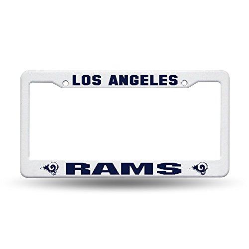 Rico Industries NFL Los Angeles Rams Plastic License Plate Frame