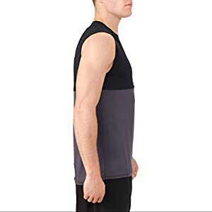 Russells Men's Performance Mesh Muscle Tank - Large