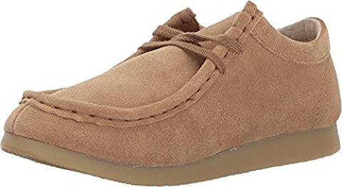Footmates Child Wally Low Laceup Wallabee Oxford (Toddler/Little Kid) Dirty Buck - Toddler Dirty Buck