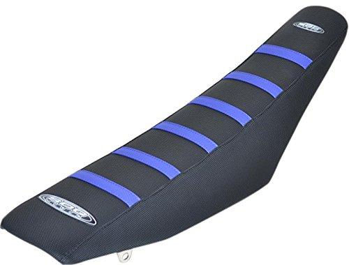 SDG USA 6-Rib Gripper Seat Cover - Black/Blue Rib by SDG USA