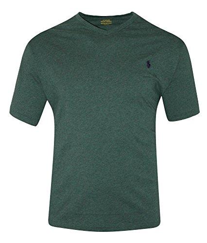 Polo Ralph Lauren Men's Big & Tall Classic Fit V-Neck T-Shirt top Shirt (2LT)