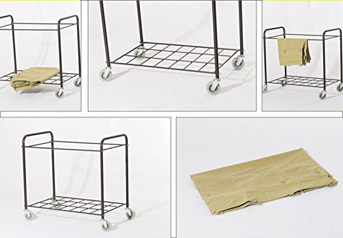 Commercial Laundry Cart, H 37.6'' x W 21.8'' x L 35.8'' by Farag Janitorial (Image #8)
