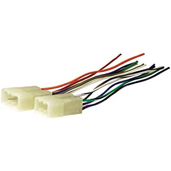 41t%2BImzZfqL._SL500_AC_SS350_ amazon com metra 70 1743 wiring harness for 1987 1994 dodge mitsubishi wiring harness at mr168.co