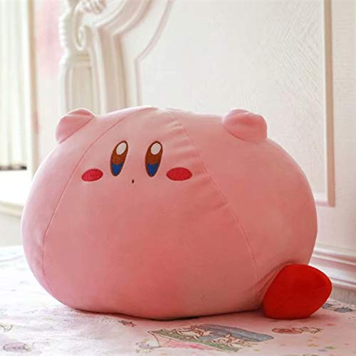 CLMM New Game Kirby Adventure Kirby Plush Toy Soft Doll Large Stuffed Animals Toys for Children Birthday Gift Home Decor (24x18cm) by CLMM