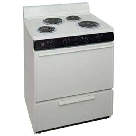 Ft. Electric Range Finish: Biscuit
