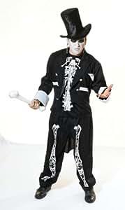 Baron Samedi Voodoo Priest Halloween Fancy Dress Outfit (disfraz)