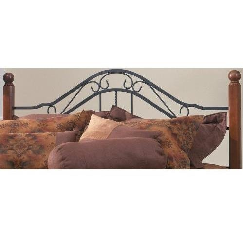 Hillsdale Furniture 1010HKR Madison Headboard with Rails, King, Textured - Size Wood Poster King