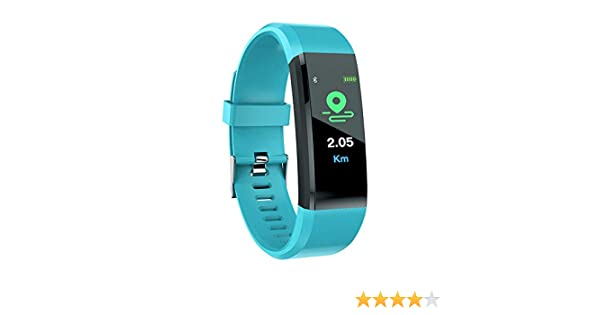 Yellsong Smart Watch - Touch Screen Bluetooth Fitness Tracker Heart Rate Monitor Blood Presure Smart Bracelet Compatible iPhone iOS Samsung LG Android ...