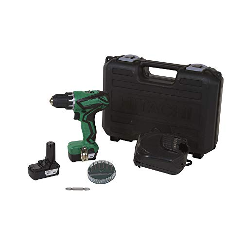 Hitachi DS10DFL2 12V Peak Cordless Lithium-Ion 3/8 in. Drill Driver (Renewed) (Hitachi 12 Volt Lithium Ion Battery Charger)