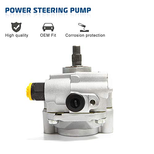 Power Steering Pump Power Assist Pump Fit For Toyota Highlander Camry Avalon Sienna Solaral Lexus ES300 RX300 Replace # 21-5931