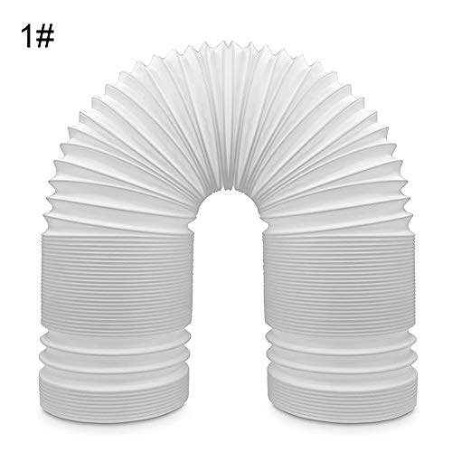 GMNP0di% Universal Portable Air Conditioner Exhaust Hose 5.11inch Diameter Duct Dryer Window Kit Extension Accessories Parts Flexible Counter Clockwise Room Airconditioner AC Vent Replacement Tube 1#