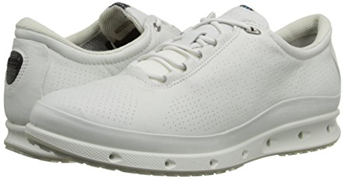 Lacci Scarpe Ecco white 831303 Cool White Pelle Sneakers Donna Bianche Bianco Gore tex qqBIvnOwrx