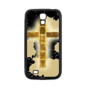 Custom Cross Back Cover Case for SamSung Galaxy S4 I9500 JNS4-224 by supermalls