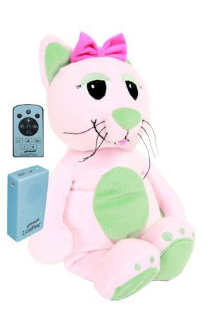 LullaPets Plush Companion - Cha Cha the Cat- Huggable Pet featuring a Removable MP3 Player by Lullapets - The Musical Companions (Image #5)