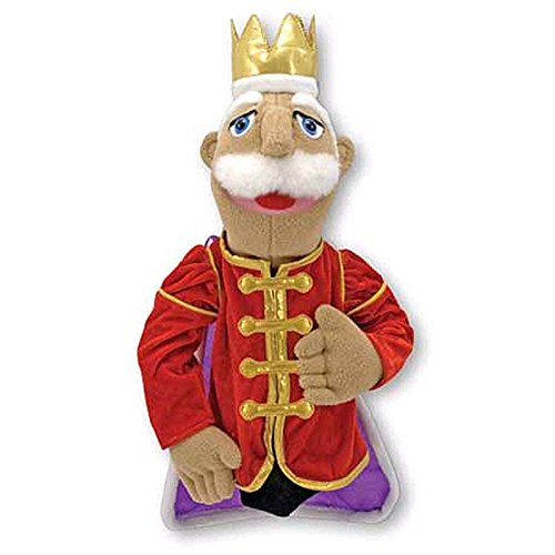 MELISSA & DOUG KING PUPPET (Set of 6)