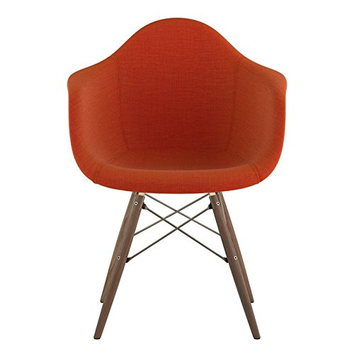 NyeKoncept 332004EW2 Mid Century Dowel Arm Chair, Lava Red from NyeKoncept