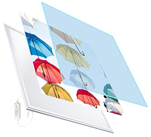 Decoralive Paraguas - Panel LED, 40 W, 60 x 60 cm, color multicolor GTD08910Q060060