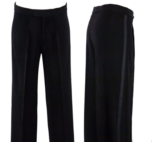 MDP109 Mens Ballroom Latin Competition Practise Dance Pants