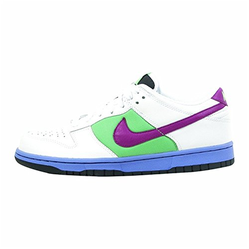 Zapatillas De Running Nike Dunk Low Para Mujer, Blanco / Logan Berry-tourmaline, 42 B (m) Eu / 7.5 B (m) Uk