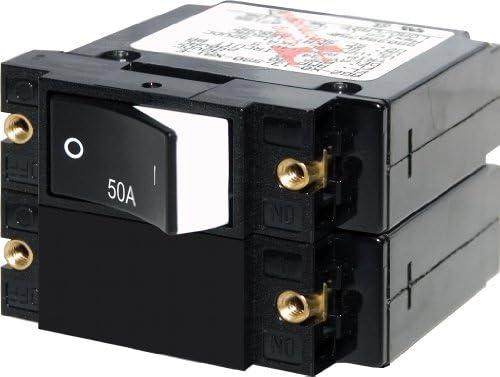 Blue Sea Systems A-Series Double Pole Rocker Circuit Breakers