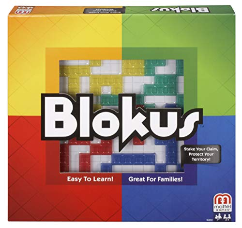 Blokus Strategy Game from Mattel Games