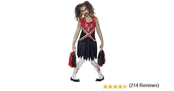 Smiffys Zombie Cheerleader - Halloweens - Niños Disfraz - Grande ...