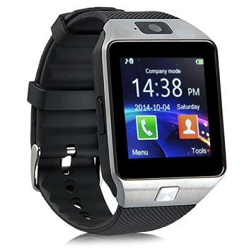 UPC 841819157208, Ottertooth Bluetooth Smart Watch with Camera, DZ09 Wrist Wrap Watch Phone (Micro SIM), Touch Screen for Samsung Galaxy, Nexus, HTC, Sony and Other Android Smartphones,with 4GB TF Card, Black