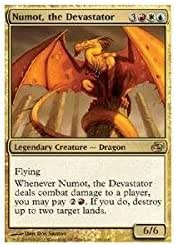 Numot the devastating premium//foil vf-numot the devastator-mtg-magic