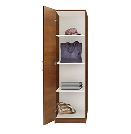 Incroyable Alta Wardrobe Closet   Narrow Closet, Left Door, 3 Shelves