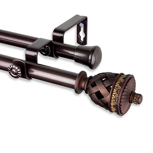 UPC 849657012369, Rod Desyne Arielle Double Curtain Rod