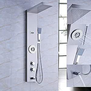 Shower Column Columna de Ducha multifunción termostática de Panel ...
