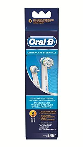 Oral-B Ortho Care Essentials Aufsteckbürsten Kit, 3 Stück