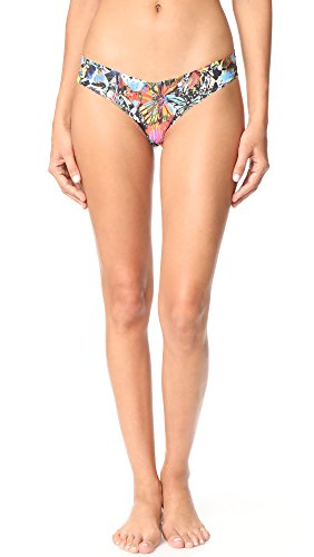 commando Women's Painted Wings Thong, Painted Wings, S/M