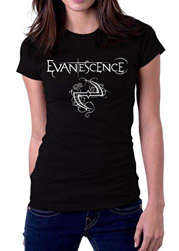 Evanescence Rock Metal Band Logo Fallen Women's -