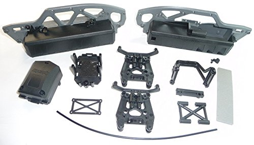 Plastic Shock Tower (HPI Savage XS Flux Mini CHASSIS / BATTERY BOX / SHOCK TOWER Plastics Set SS by HPI Racing)