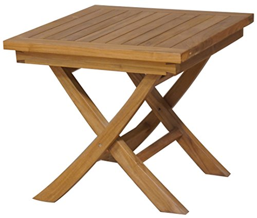 A Grade Teak Folding Side Table Made By Chic Teak