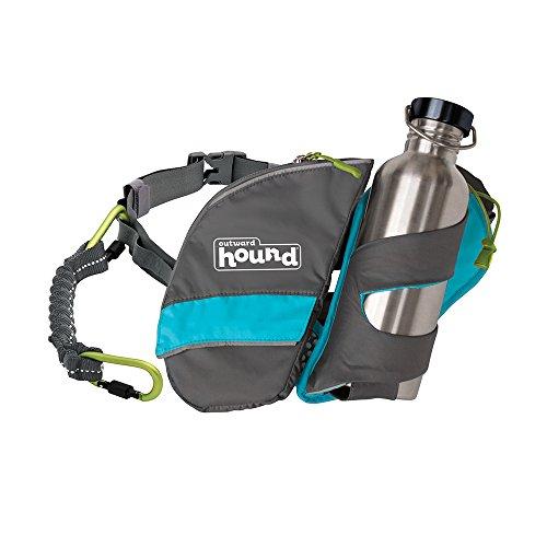 Hip Hound - Outward Hound 67869 Hipster Waist Pack Dog Leashes, One Size