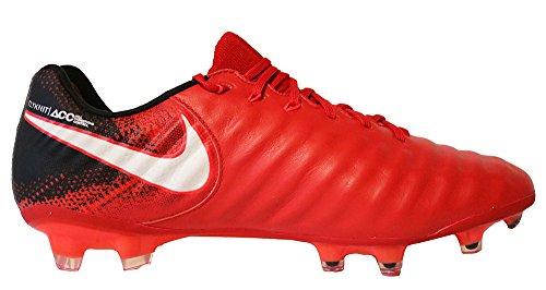Nike Mens Tiempo Legend Vii Fg Soccer Cleat (zie 9.5) Rood, Helder Karmozijnrood